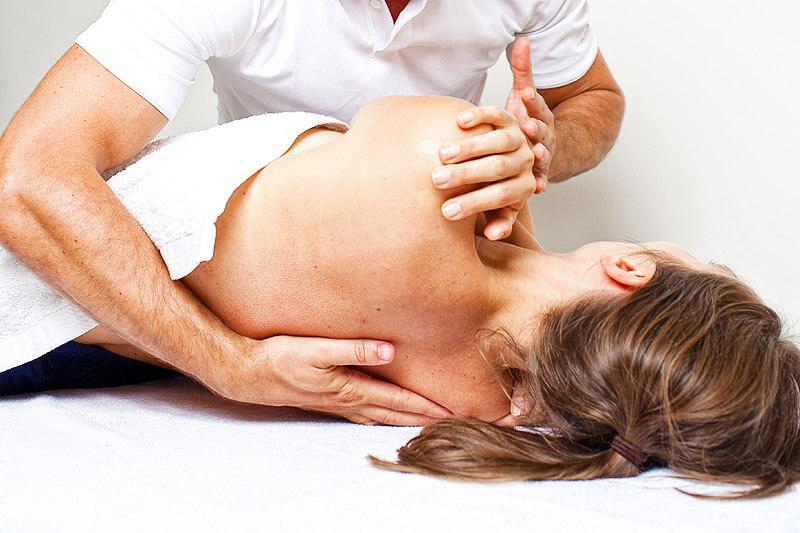 Rückenbehandlung